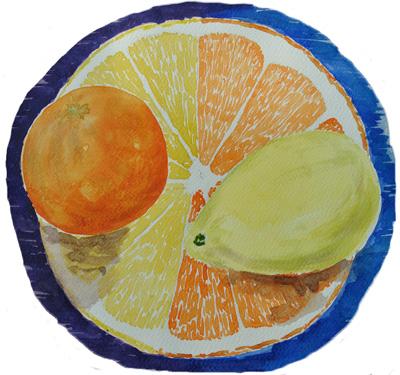 Lees meer over het artikel Aquarelcursus weer begonnen / Watercolor course started again