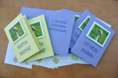 Paaskaarten / Eastercards