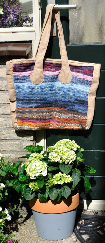 Gehaakte tas / Crocheted Bag