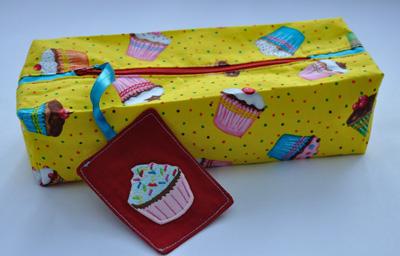 Cupcake etui/case