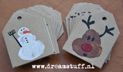 DIY Christmas labels – Cadeau Labels