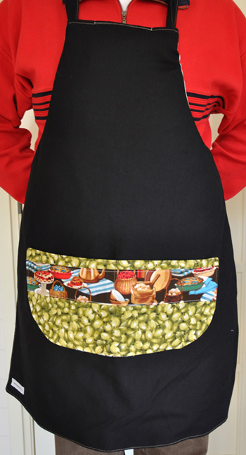 tweezijdig short – doublesided apron