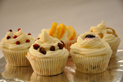 Vogel-Bird Cupcakes