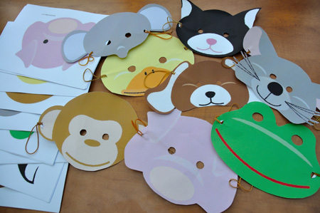 kindermaskers – childrens masks