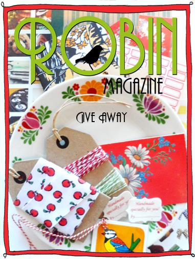 Lees meer over het artikel Robin magazine give away
