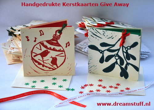Kerstkaart give away