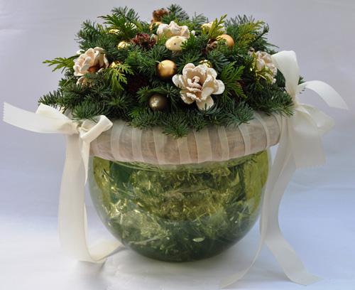 Kerststuk – Christmas arrangement