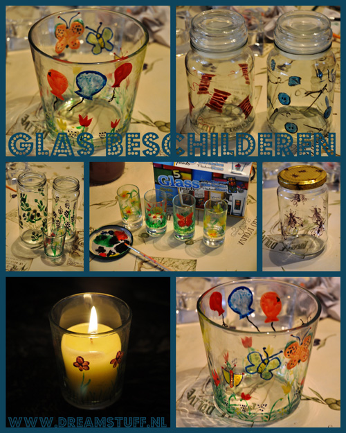 Glas beschilderen – Painting Glass
