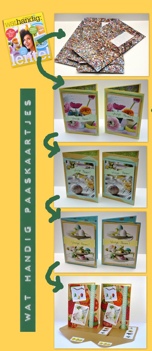 Wat handig —> Paaskaarten