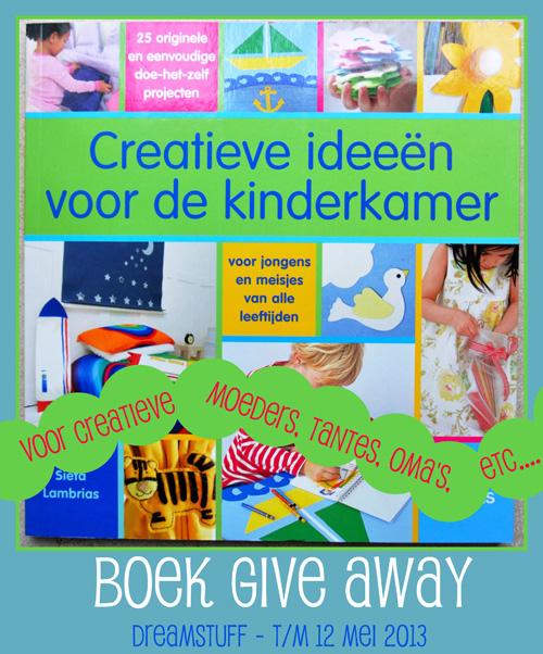 Give Away – voor creatieve moeders, tantes, oma's, etc…