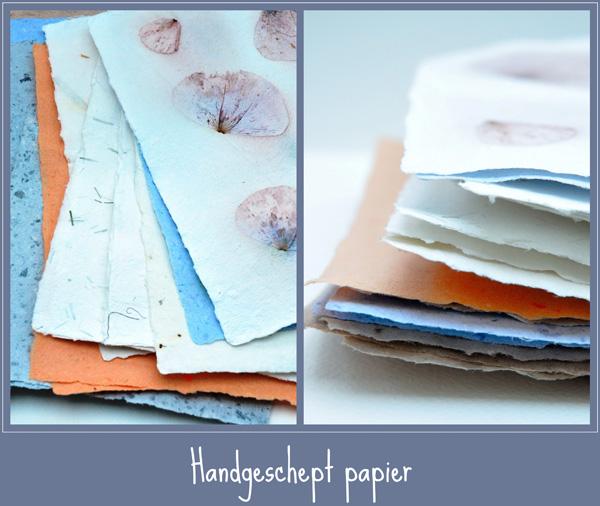 handgeschept papier
