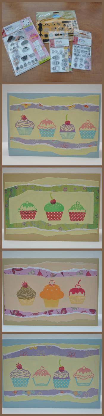 Cupcakes kaarten – cards