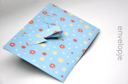 zomaar een flopje – just a envelope…
