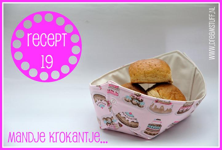 Mandje Krokantje – Fabric Basket