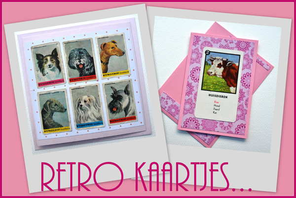 Retro kaartjes – cards