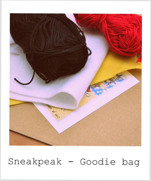 Sneak peak – Goodie bag