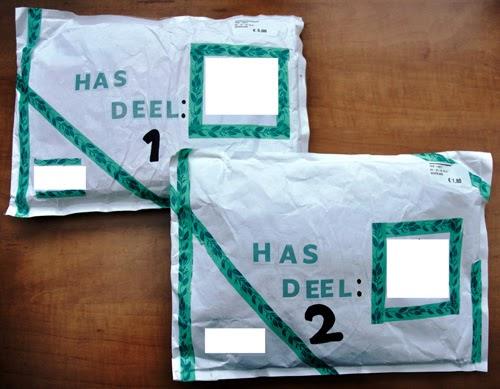 HAS – pakket ontvangen – helemaal blij