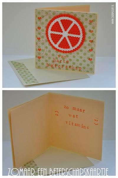 zomaar een kaartje – just a card