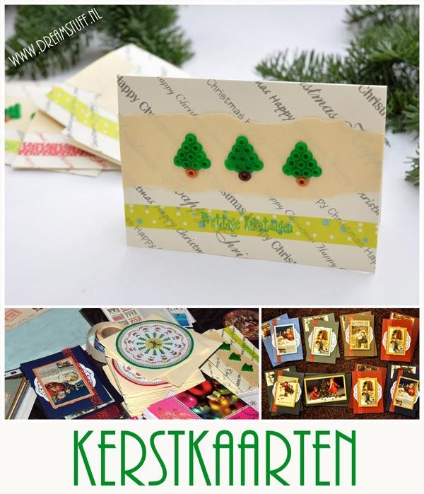 Zelfgemaakte Kerstkaarten – Handmade Christmascards
