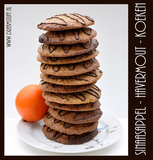 Sinaasappel-havermout-koeken  * Orange-oatmeal-cookies