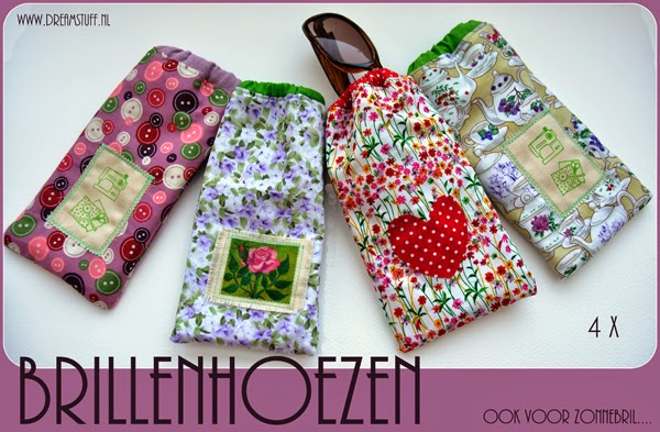 Give away 7: Brillenhoezen