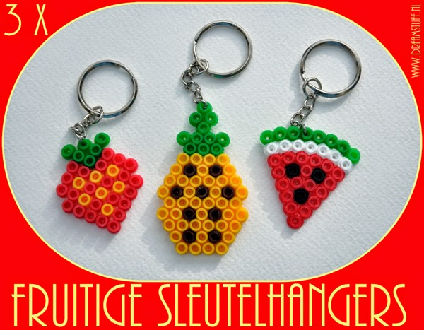 Give away 8: Fruitige Sleutelhangers