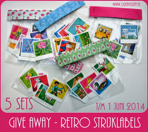 Read more about the article Give away 2: Retro strijklabels