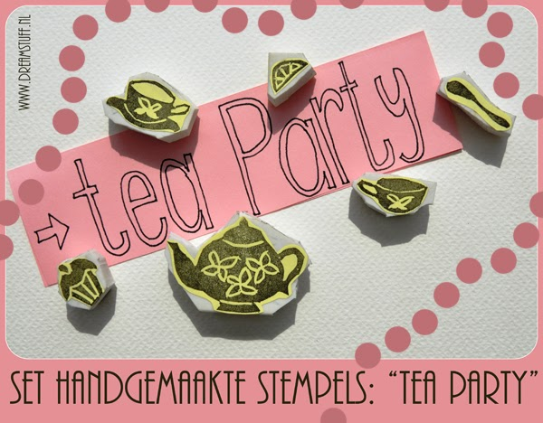 "Give away 11: Stempelset ""Tea Party"""