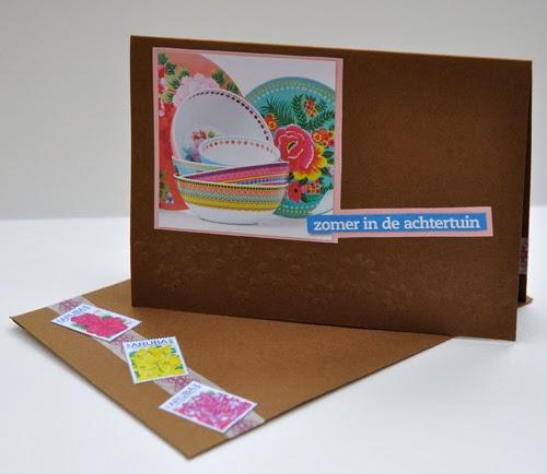 een kaartje – a card