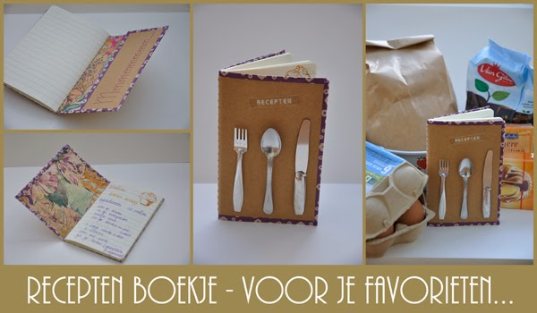Receptenboekje – Recipes booklet