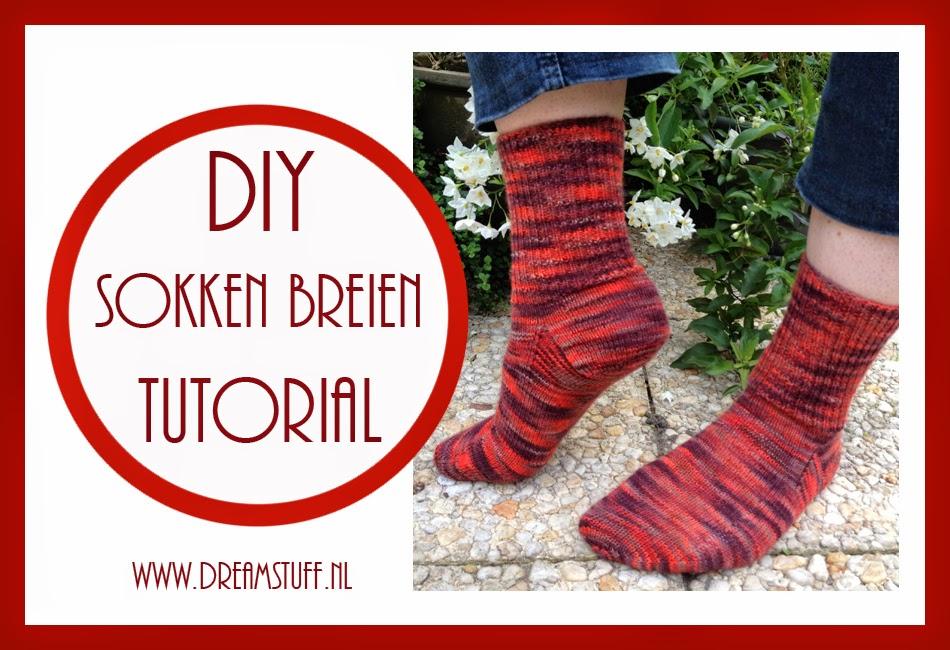 Lees meer over het artikel Sokken breien – Knitting Sock – Free Pattern + Tutorial