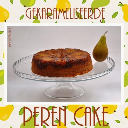 Lees meer over het artikel Gekarameliseerde Peren Cake – Cake with caramel pears