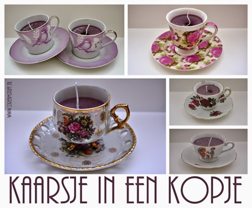 Kaars in een theekopje – Candle in a teacup
