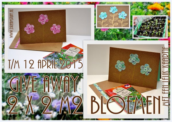 Give away: 2 x 2 m2 bloemen / flowers