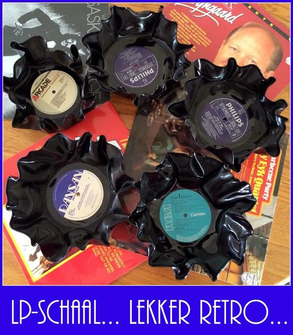 Retro LP schaal – bowl