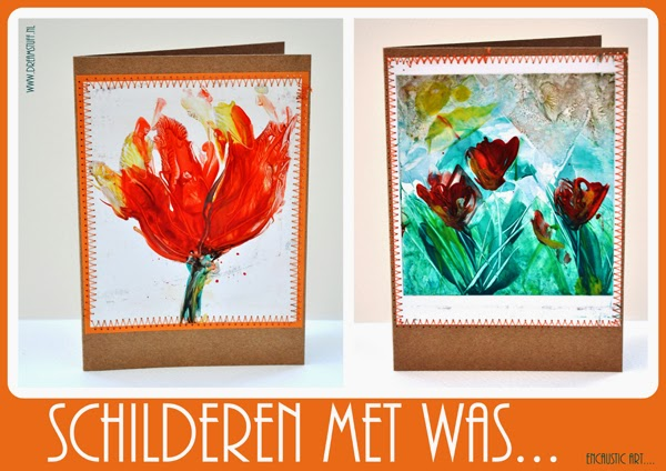 Schilderen met was – Painting with wax