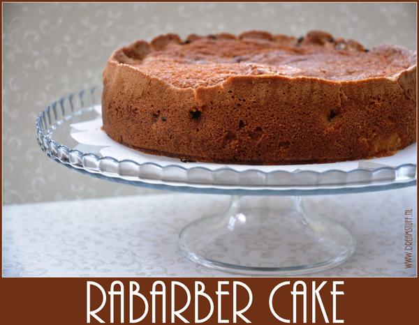 Rabarber…. Mmmmmm – Rhubarb…..yummy