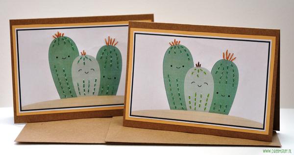 Cactus kaarten – cards