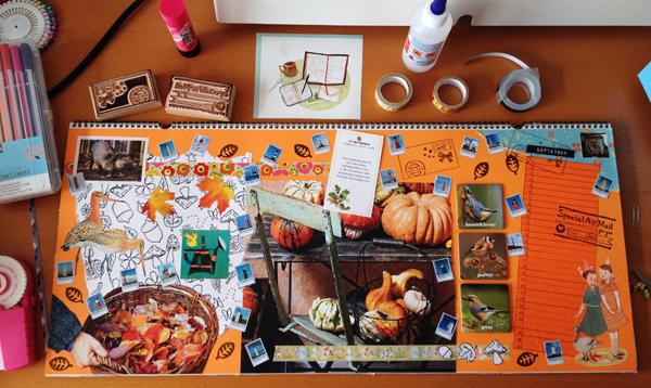 knutsel kalender – craft calendar