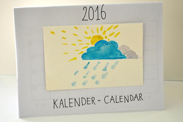 Nieuwe Kalender – New Calendar – DIY