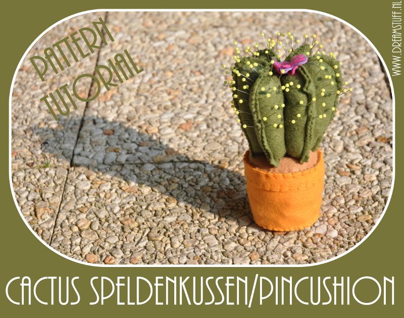 Cactus speldenkussen – pincushion