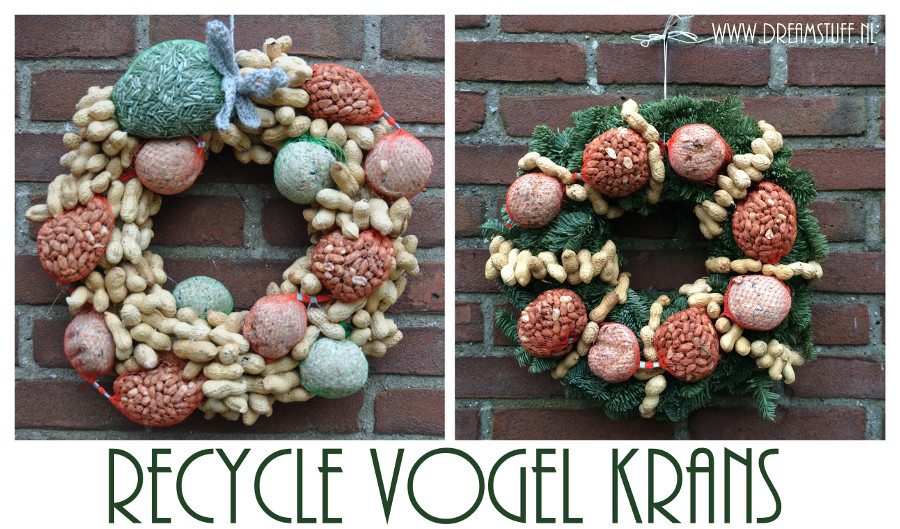 Recycle Vogel Krans – Recycle Bird Wreath