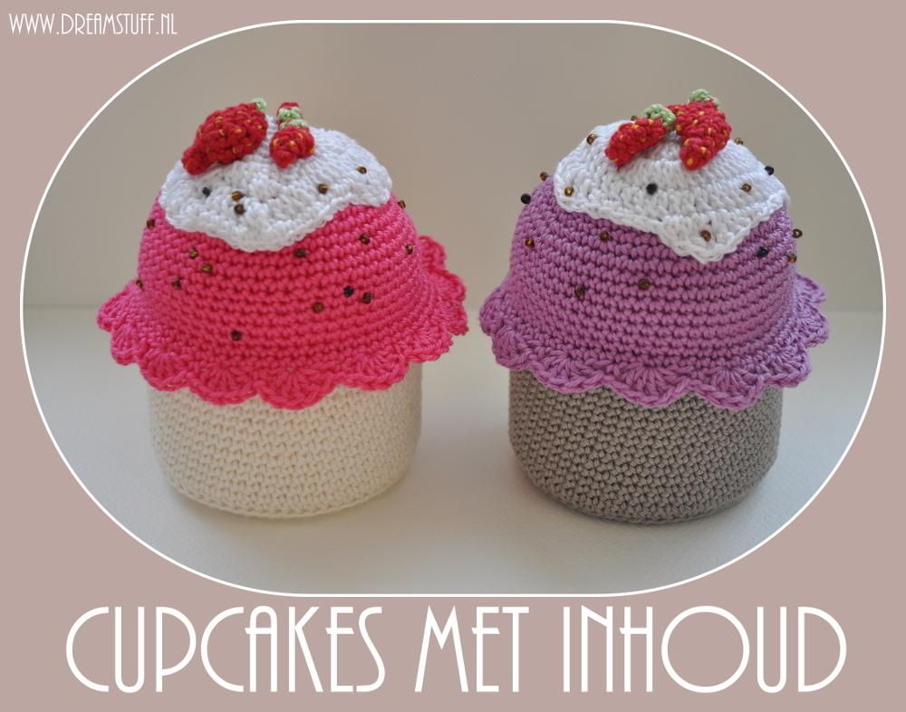 Gehaakte Cupcakes – Crocheted Cupcakes