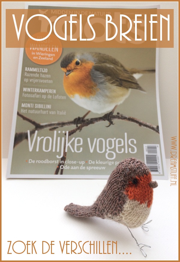 Vogels breien – Knitting Birds