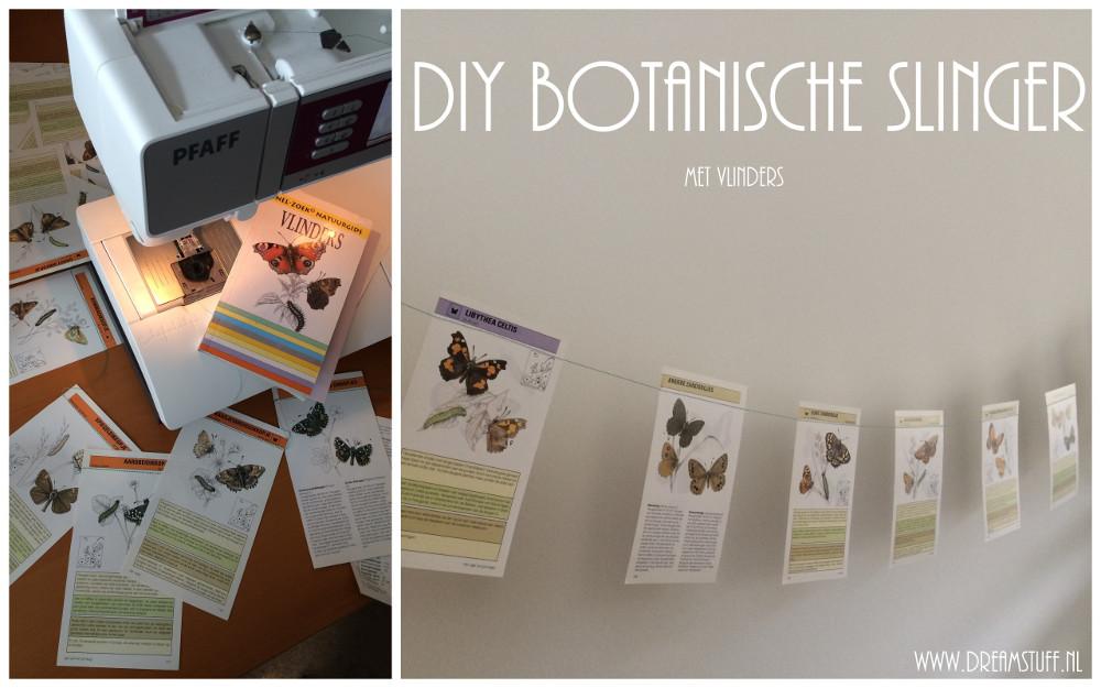 DIY Botanische slinger – DIY Botanical garland