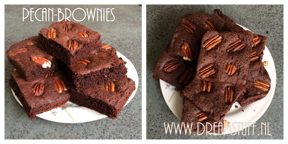 Pecan-brownies