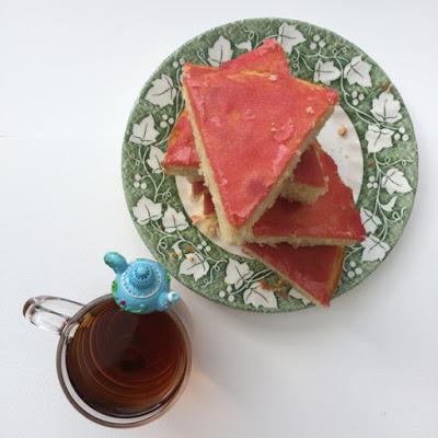 Roze koek – Pink cake