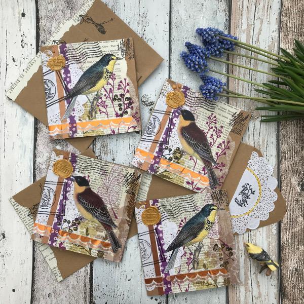 Vogelkaarten – Birdcards