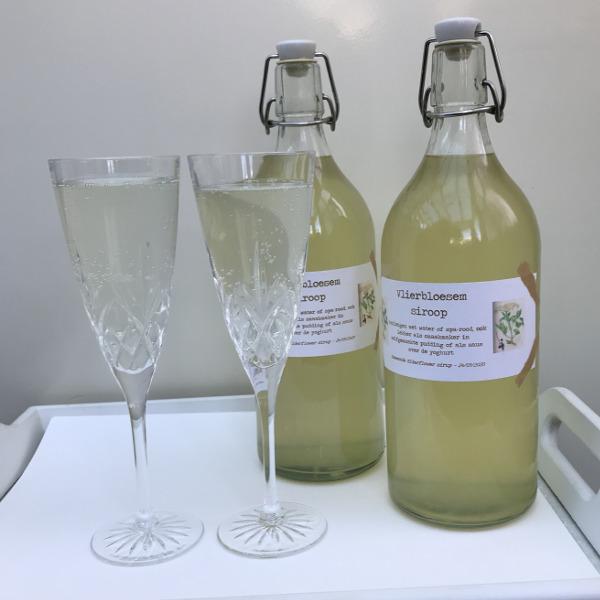 Vlierbloesem siroop – Elderflower syrup