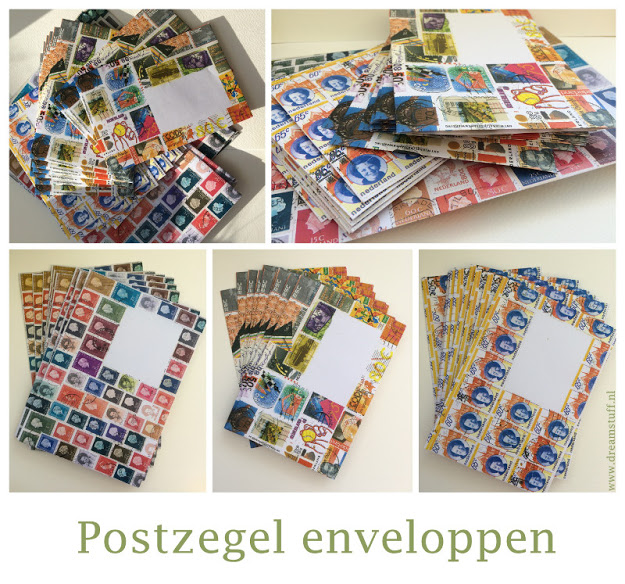 Postzegel enveloppen – Stamp envelopes